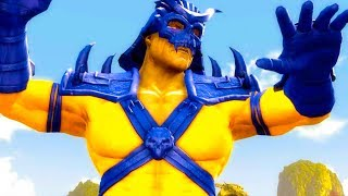 Mortal Kombat Komplete Edition - X-Men Shao Kahn & The Flash Tag Ladder 4K Gameplay Playthrough