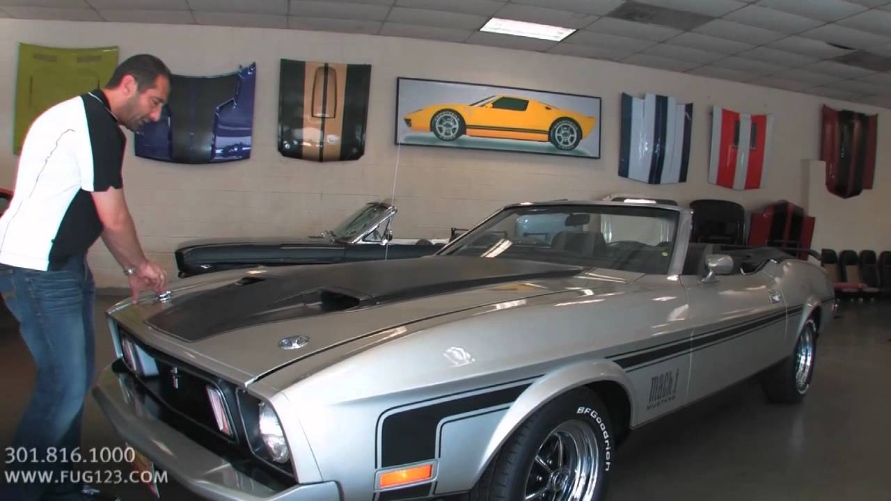1973 Ford Mustang Mach 1 Convertible For Sale Flemings