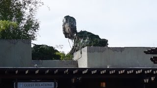 Pandora – The World of Avatar CONSTRUCTION UPDATE!  Disney's Animal Kingdom 1/16/17