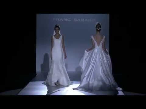 Desfile Franc Sarabia 2015, sofisticación para novias e invitadas