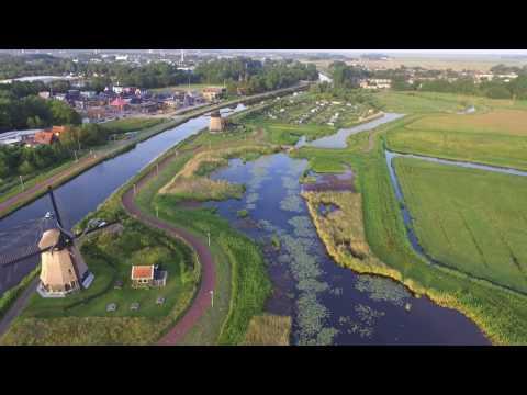 Drone beelden in de Polder van Alkmaar
