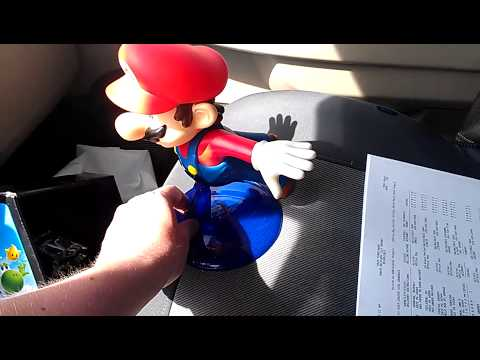 Super Mario Galaxy 2 Super Size Figure Flying Mario ON CLEARANCE $2.00