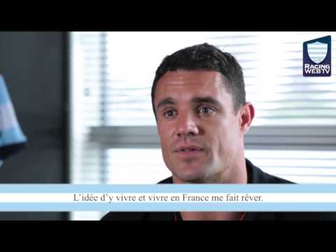 Dan Carter joins Racing Métro 92
