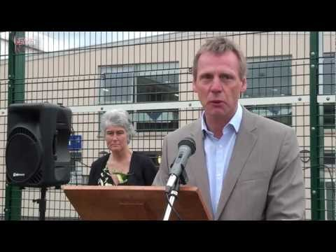 Lew's News Extra - Stuart Pearce opens Paignton Community College's Football Development Centre
