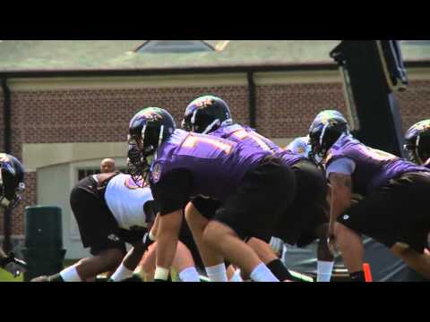First Look At Ravens Rookies In Action