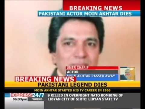 Moin Akhtar's Death Is A Great Loss To Pakistan: Umar Sharif video
