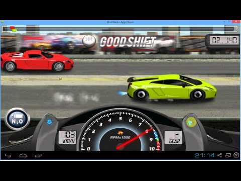 Drag Racing Lamborghini Gallardo LP 570-4 SL Level 7 Tune 13.557 1/2 Mile