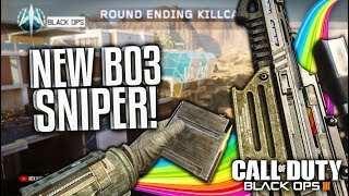 TRICKSHOTS WITH THE NEW SNIPER RIFLE! (BO3 XPR Trickshotting)