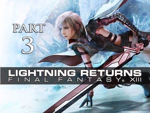 Lightning Returns Final Fantasy XIII Walkthrough Part 3 - Luxerion Murder (Gameplay Let's Play)