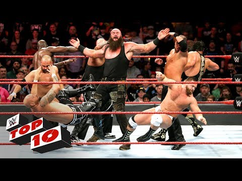 Top 10 Raw moments: WWE Top 10, March 12, 2018 thumbnail