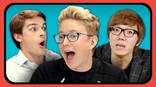 YOUTUBERS REACT TO MUKBANG (Eating Shows)