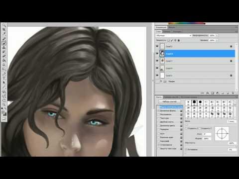 Чудеса Adobe Photoshop - Рисование эльфа - Youtube Fanclub
