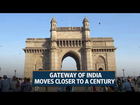 Gateway of India moves closer to a century