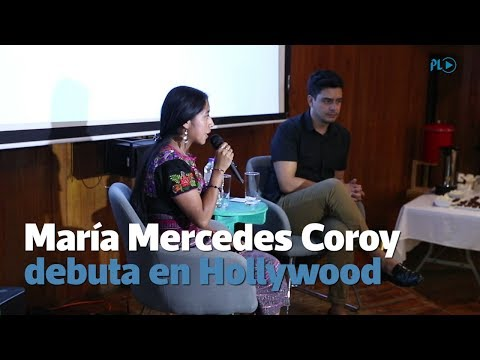 María Mercedes Coroy comparte su experiencia en Hollywood thumbnail