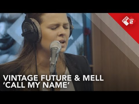 Vintage Future & Mell - 'Call My Name' Live @ Stenders Platenbonanza | NPO Radio 2