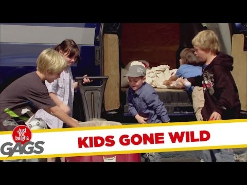 Kids Gone Wild Prank