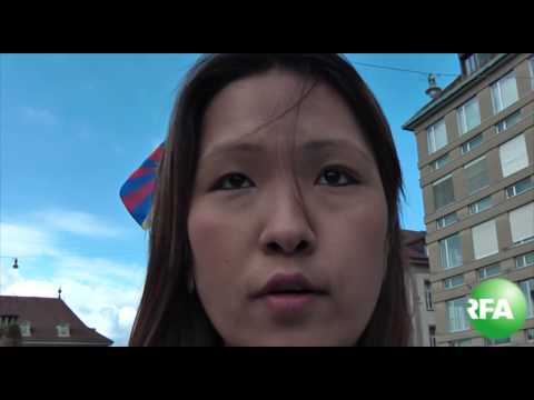 Tibetans protest against Chinese premier Li Keqiang in Swiss