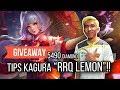 Tutorial Kagura RRQ Lemon, Top Global yang Gak Ada Obatnya! [5 Pemenang + Giveaway 5490 Diamond]