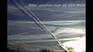 Video/Bilderbeweis für die Ausbringung von Fasern im Luftraum über Deutschland (Chemtrails)