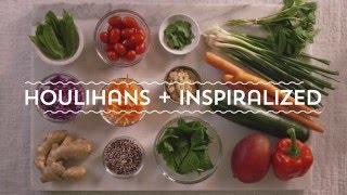 Houlihan's + Inspiralized Thai 'Noodle' Salad