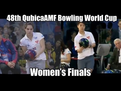 Aumi Guerra vs Shayna Ng - Women's Finals 2012 Bowling World Cup Poland