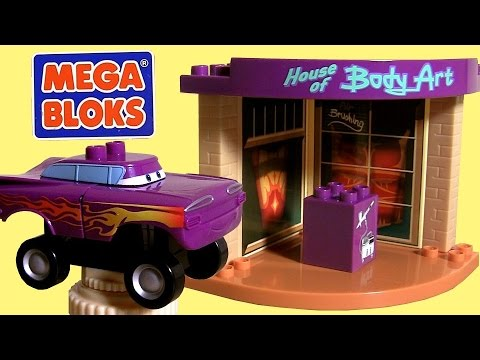 Mega Bloks Cars Ramone's Paintshop Body Art 7790 Building Toys Disney Pixar by Toy Collector