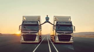 Volvo Trucks   The Epic Split feat  Van Damme Live Test 6