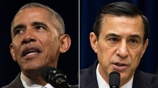 President Obama lashes out at Rep. Issa