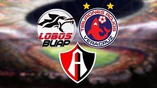 Qué necesita tu equipo para no descender? Lobos BUAP, Veracruz, Atlas LIGA MX