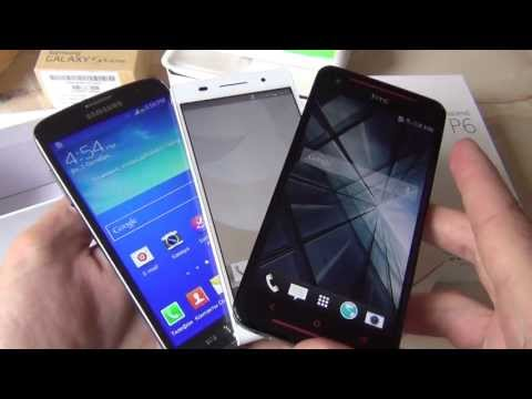 Анонс, unboxing - HTC Butterfly S - Samsung G S4 Active - Huawei Ascend P6 / Арстайл /