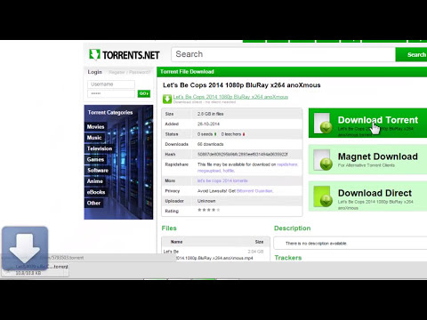 How To Download Movies Using uTorrent 2015 [FREE and Fast]