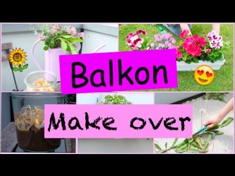 BALKON GESTALTEN + Diys & Tipps