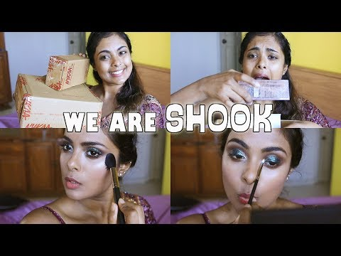 NYKAA FESTIVE SALE HAS ME SHOOK!! Indian Festive GRWM & Haul Oooh!