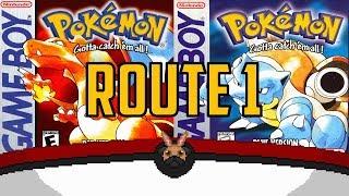 Pokémon Red & Blue - Route 1 | BunnyPug