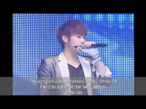 120515 INFINITIZE SHOWCASE LIVE  TalkCut