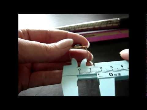Видео как выбрать размер кольца