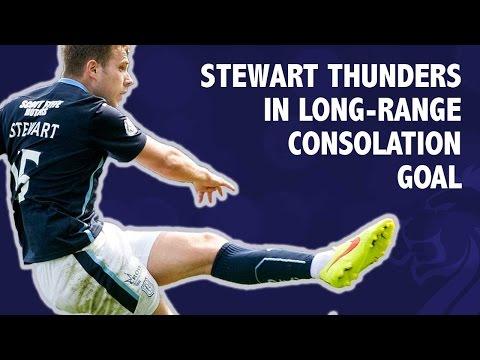 Stewart smashes in long-range consolation goal
