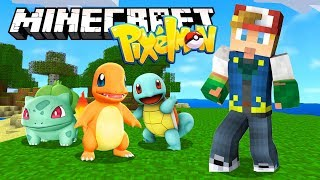 Minecraft with Pokemon! (Pixelmon)
