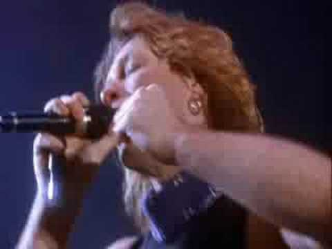 Bon Jovi Live From London Part 11- This Ain't A Love Song