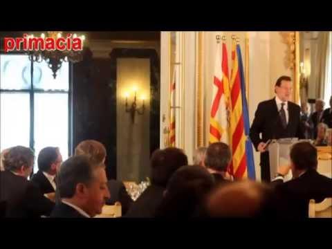 Rajoy en Barcelona en un almuerzo con directivos de la industria automovilística