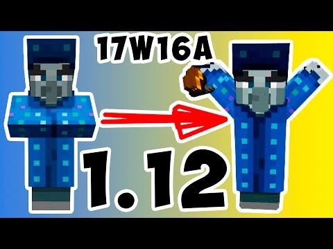 НОВЫЙ МОБ! | ОБЗОР СНАПШОТ 17W16A Minecraft | МАЙНКРАФТ 1.12 |
