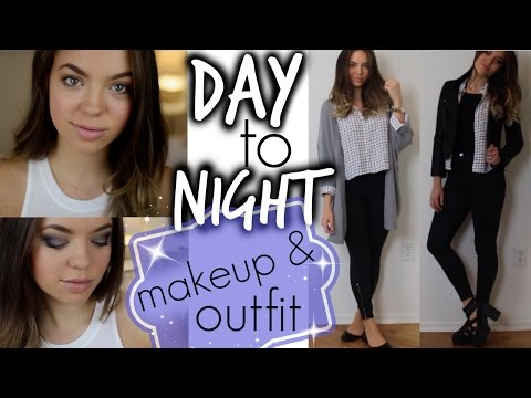 Fall Tutorial: Day to Night Makeup & Oufit!