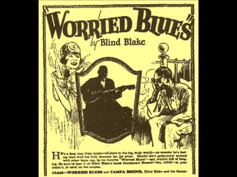 Blake's Worried Blues (Blind Blake, October 1926) [Remastered]