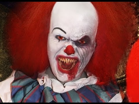 Pennywise It Makeup Tutorial Youtube