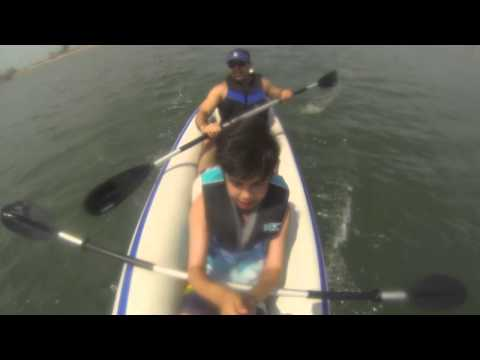 Summer Time! Kayaking Naples Italy-LongBeach (Sea Eagle 370)