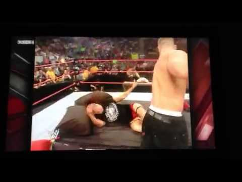 John Cena & Maria vs Edge & Lita -