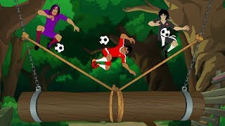 Supa Strikas - Season 4 Ep 42 - Live and Kicking - Soccer Adventure Series