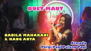 Download lagu PERGI PAGI PULANG PAGI - ARMADA | Cover by Nabila Maharani with NM BOYS