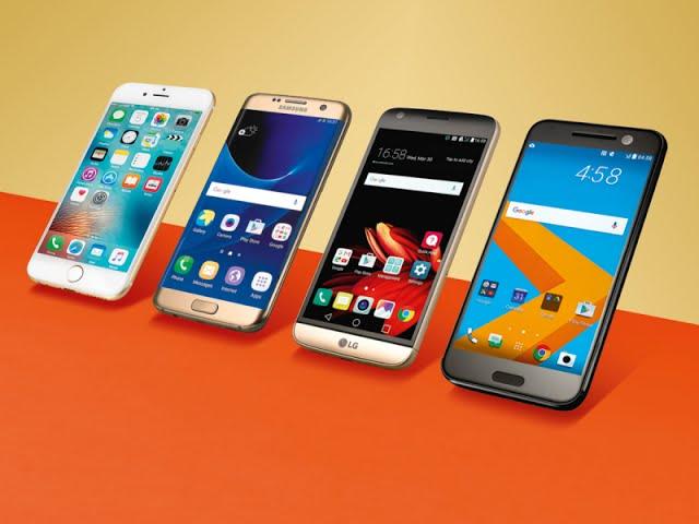 Samsung Galaxy Note 7 vs HTC 10 vs LG G5 vs Apple IPhone 6S Plus | Comparison
