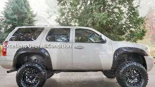 2007 Chevrolet Tahoe 4X4 LIFTED FUEL Wheels Brand New 35S 3 Row Seating for sale in Milwaukie, OR